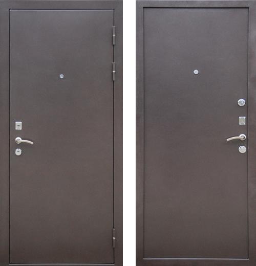 входные двери (стальные двери, металлические двери) DOORS007: дверь Ратибор Зима