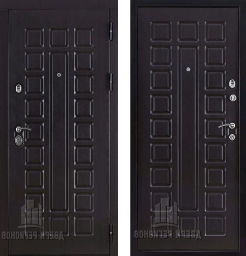 входные двери (стальные двери, металлические двери) DOORS007: дверь Regidoors Консул