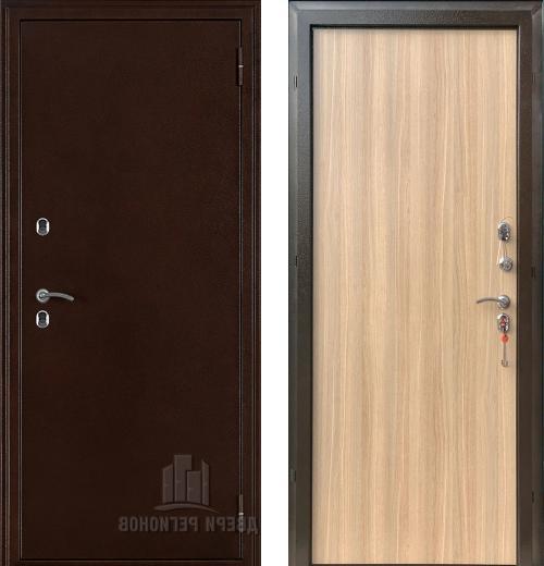 входные двери (стальные двери, металлические двери) DOORS007: дверь Regidoors Термо 3