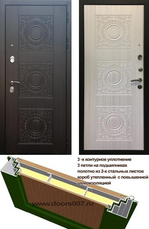 входные двери (стальные двери, металлические двери) DOORS007: дверь Rex 10, Цвет