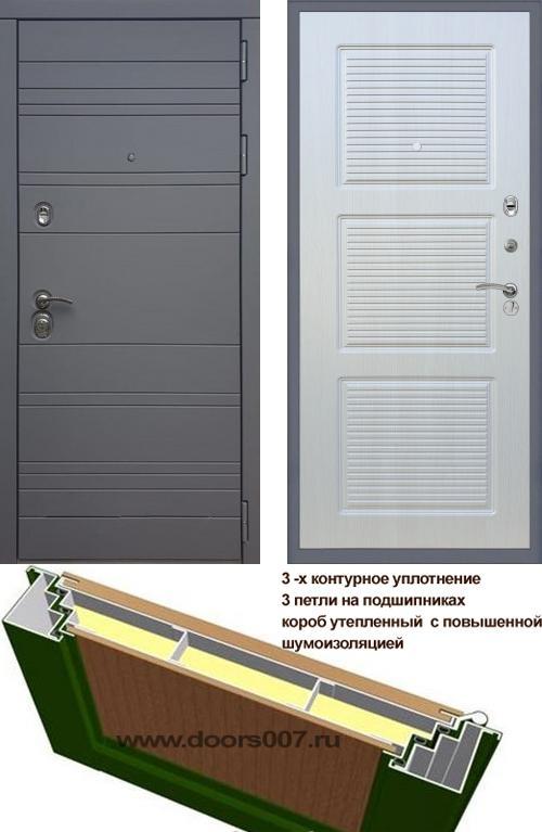 входные двери (стальные двери, металлические двери) DOORS007: дверь Rex 14 Титан ФЛ-1, Цвет