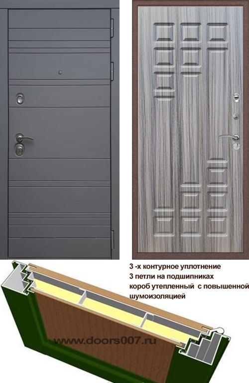 входные двери (стальные двери, металлические двери) DOORS007: дверь Rex 14 Титан ФЛ-32, Цвет