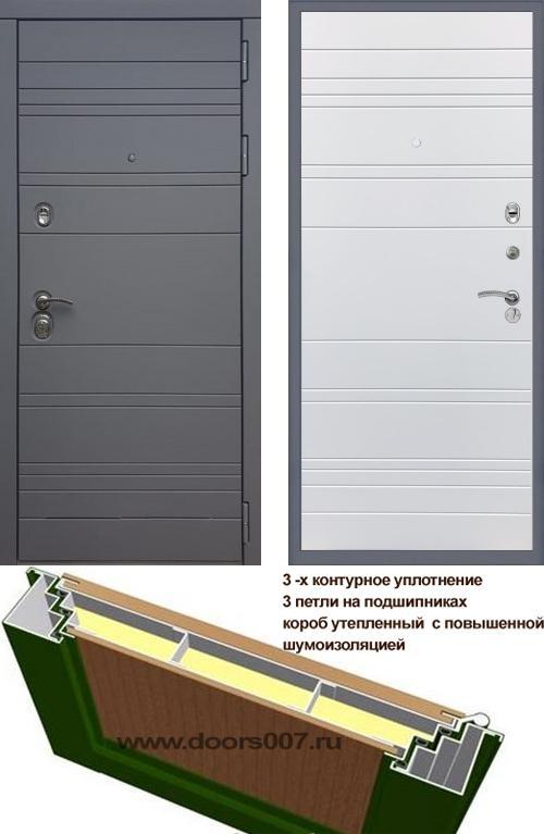 входные двери (стальные двери, металлические двери) DOORS007: дверь Rex 14 Титан Line, Цвет