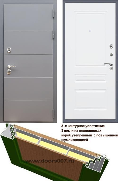 входные двери (стальные двери, металлические двери) DOORS007: дверь Rex 19 ФЛ-243, Цвет