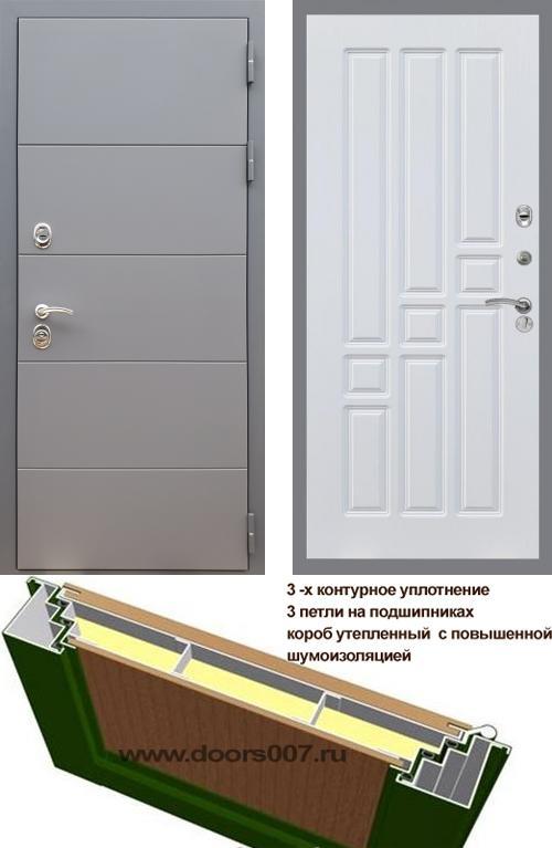 входные двери (стальные двери, металлические двери) DOORS007: дверь Rex 19 ФЛ-31, Цвет