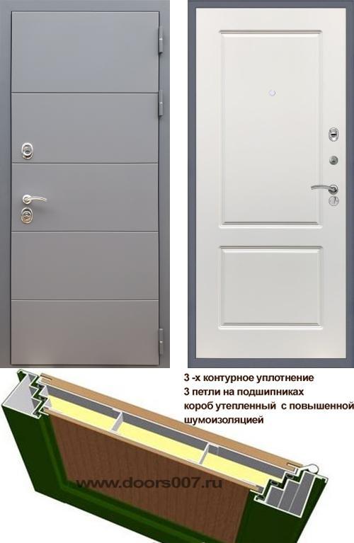 входные двери (стальные двери, металлические двери) DOORS007: дверь Rex 19 ФЛ-117, Цвет