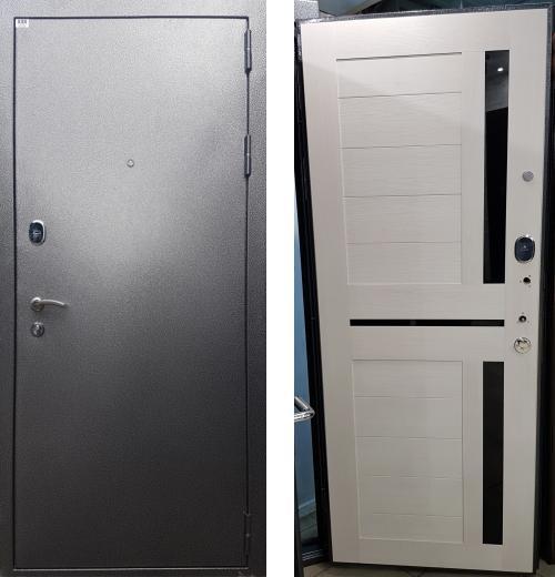 входные двери (стальные двери, металлические двери) DOORS007: дверь Rex 1А Антик серебро, Цвет