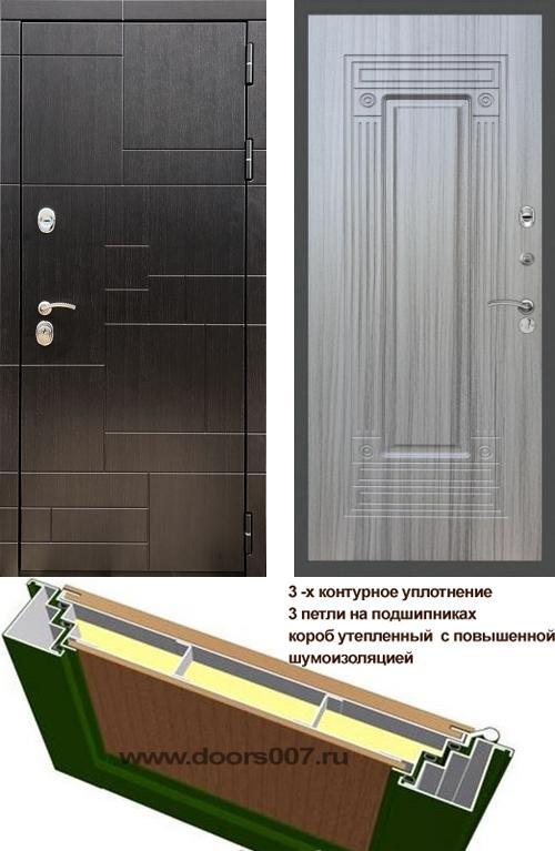 входные двери (стальные двери, металлические двери) DOORS007: дверь Rex 20 ФЛ-4, Цвет