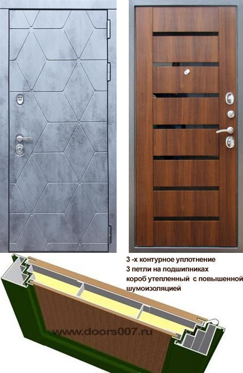 входные двери (стальные двери, металлические двери) DOORS007: дверь Rex 28 СБ-14 Черное стекло, Цвет