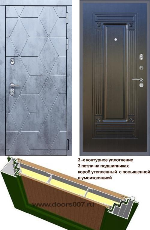 входные двери (стальные двери, металлические двери) DOORS007: дверь Rex 28 ФЛ-4, Цвет