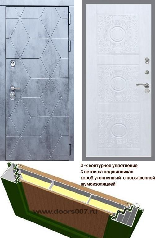 входные двери (стальные двери, металлические двери) DOORS007: дверь Rex 28 Д-18, Цвет