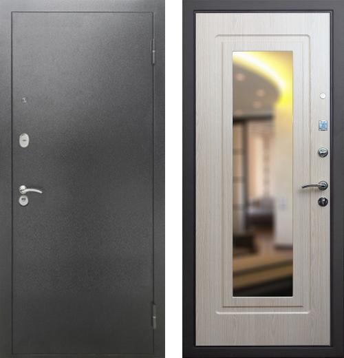 входные двери (стальные двери, металлические двери) DOORS007: дверь Rex 2А с зеркалом, Цвет