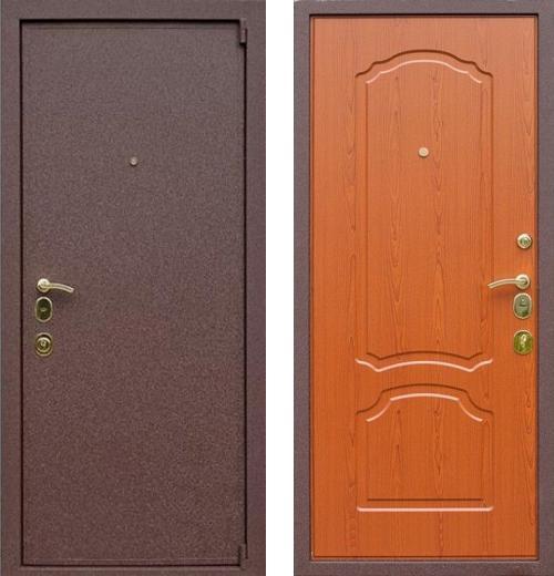 входные двери (стальные двери, металлические двери) DOORS007: дверь Rex 3А