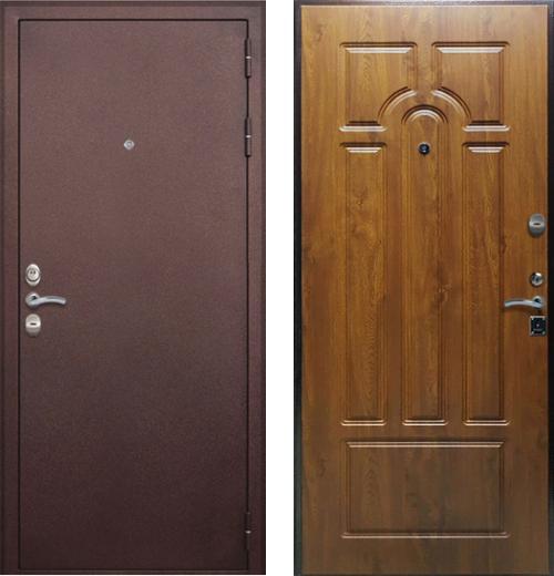 входные двери (стальные двери, металлические двери) DOORS007: дверь Rex 7 (4 контура)