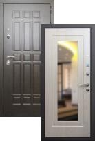 Входная дверь Rex 8 с зеркалом