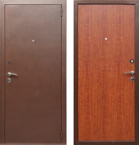 входные двери (стальные двери, металлические двери) DOORS007: дверь Rex Эконом, Цвет