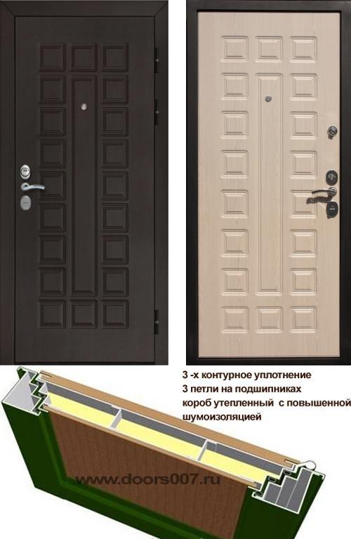 входные двери (стальные двери, металлические двери) DOORS007: дверь Rex Гладиатор CISA, Цвет