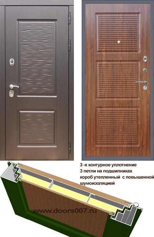 входные двери (стальные двери, металлические двери) DOORS007: дверь Rex Line 2