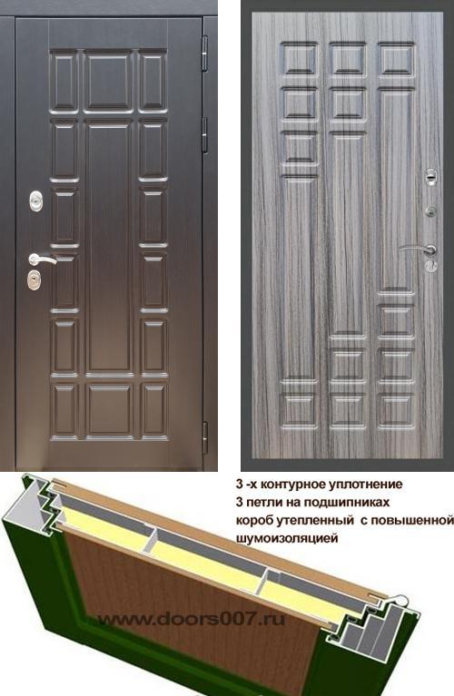 входные двери (стальные двери, металлические двери) DOORS007: дверь Rex 18 ФЛ-32, Цвет