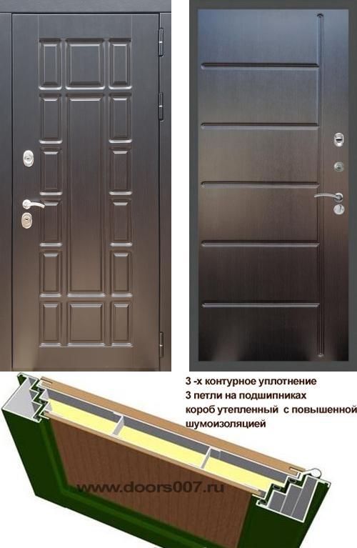 входные двери (стальные двери, металлические двери) DOORS007: дверь Rex 18 ФЛ-102, Цвет