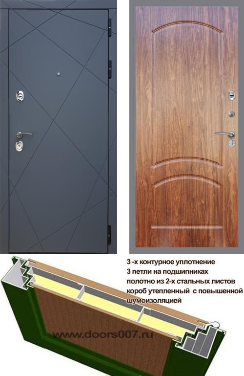 входные двери (стальные двери, металлические двери) DOORS007: дверь Rex 13 ФЛ-126, Цвет