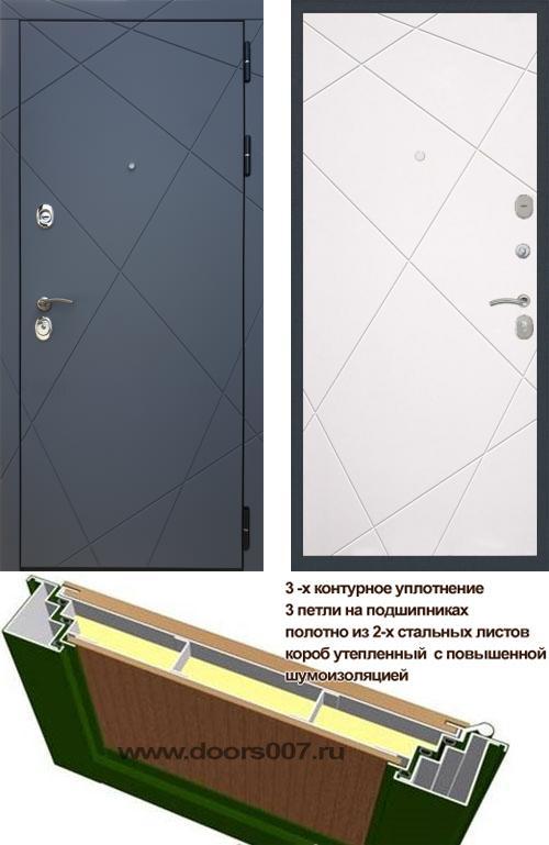 входные двери (стальные двери, металлические двери) DOORS007: дверь Rex 13