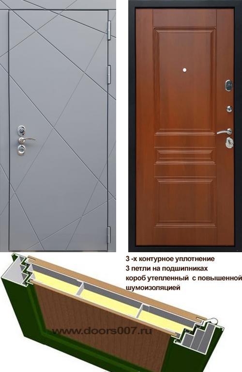 входные двери (стальные двери, металлические двери) DOORS007: дверь Rex 13 CISA ФЛ-243, Цвет