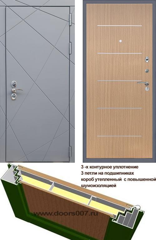 входные двери (стальные двери, металлические двери) DOORS007: дверь Rex 13 CISA B-03 Молдинг, Цвет