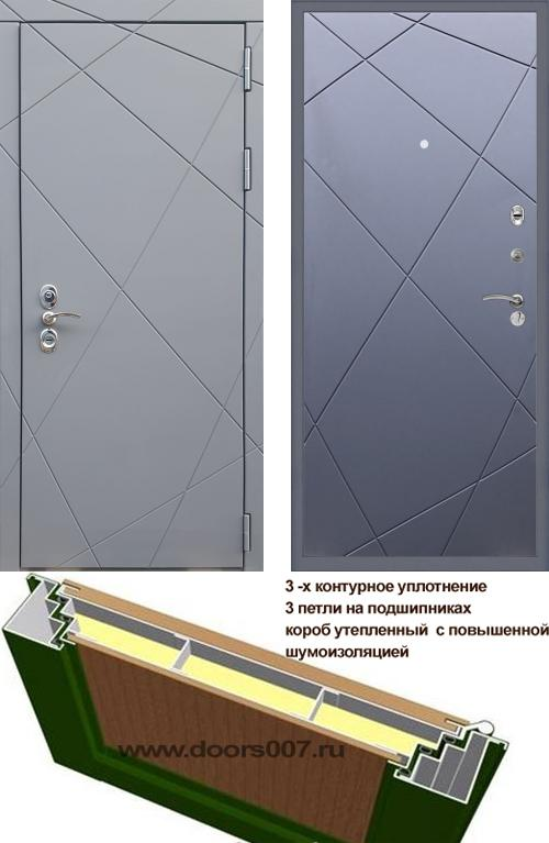 входные двери (стальные двери, металлические двери) DOORS007: дверь Rex 13 CISA ФЛ-291, Цвет