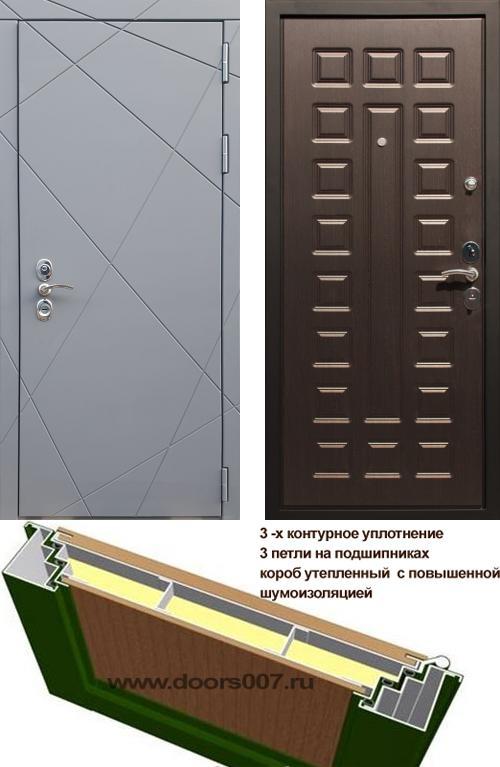 входные двери (стальные двери, металлические двери) DOORS007: дверь Rex 13 CISA ФЛ-183, Цвет