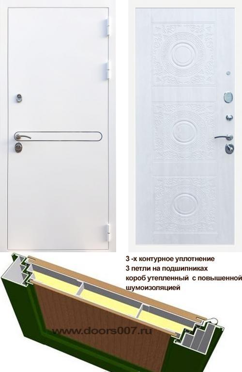 входные двери (стальные двери, металлические двери) DOORS007: дверь Rex 27 Д-18