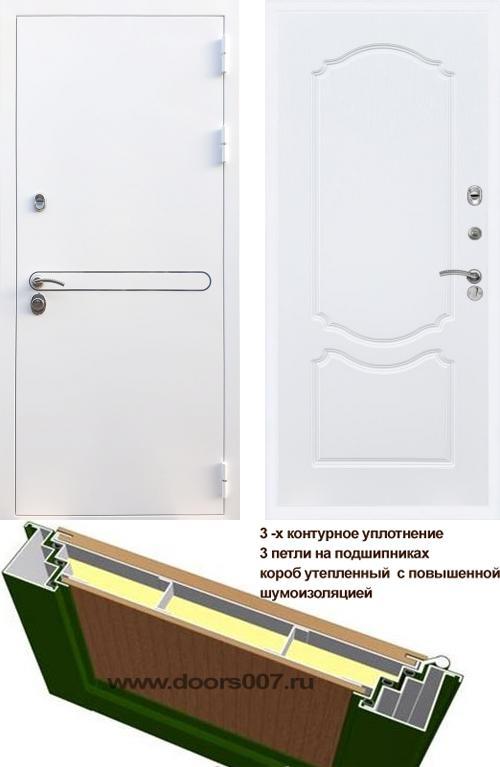 входные двери (стальные двери, металлические двери) DOORS007: дверь Rex 27 ФЛ-130, Цвет