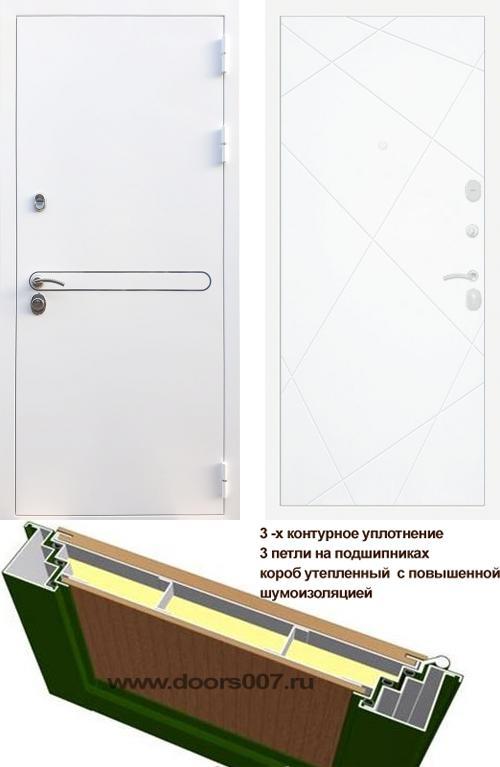 входные двери (стальные двери, металлические двери) DOORS007: дверь Rex 27 ФЛ-291