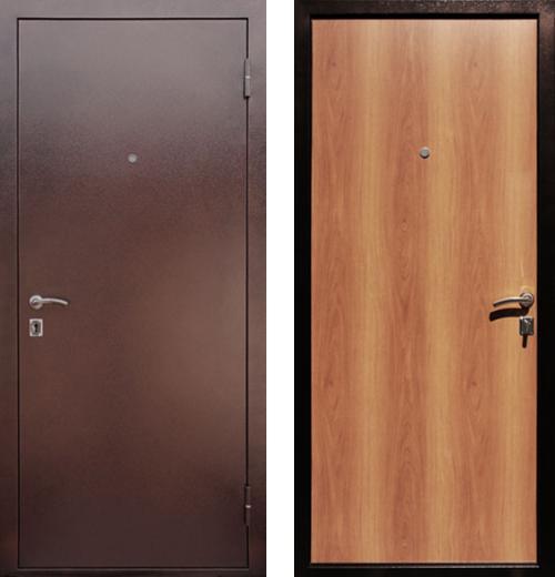 входные двери (стальные двери, металлические двери) DOORS007: дверь Rex Супер Эконом, Цвет