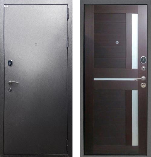 входные двери (стальные двери, металлические двери) DOORS007: дверь Rex Титан СБ-18