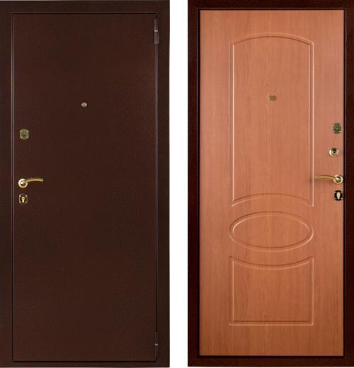 входные двери (стальные двери, металлические двери) DOORS007: дверь Страж 12 Триумф, Цвет