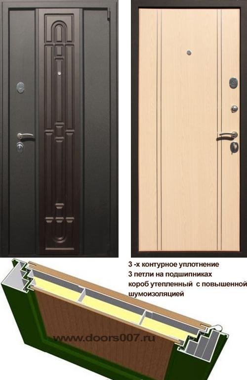 входные двери (стальные двери, металлические двери) DOORS007: дверь Страж Комби, Цвет