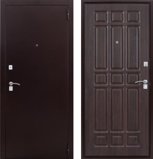входные двери (стальные двери, металлические двери) DOORS007: дверь Страж Дачник