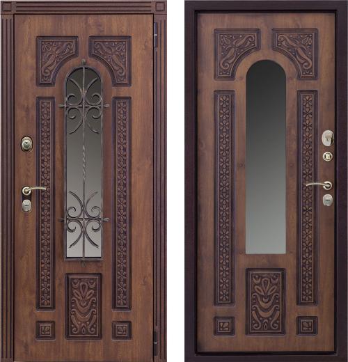 входные двери (стальные двери, металлические двери) DOORS007: дверь Страж