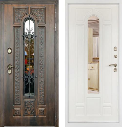 входные двери (стальные двери, металлические двери) DOORS007: дверь Страж Термо Лацио