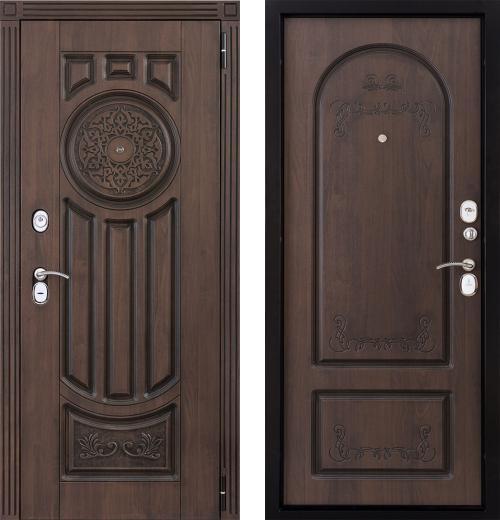 входные двери (стальные двери, металлические двери) DOORS007: дверь Страж Лео 2