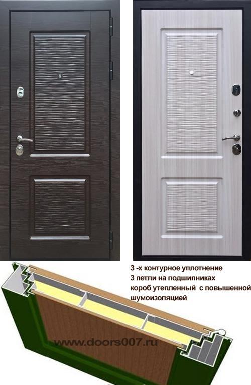входные двери (стальные двери, металлические двери) DOORS007: дверь Страж ЛАЙН 2
