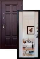 Входная дверь Страж Мегаполис 3К Миррор (стальная дверь, металлическая дверь)