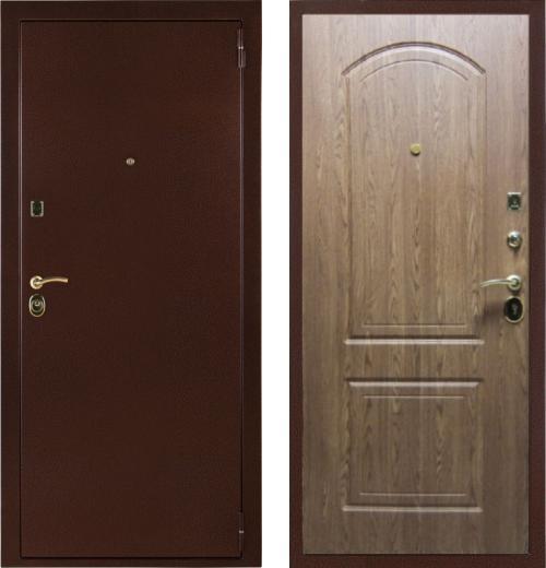 входные двери (стальные двери, металлические двери) DOORS007: дверь Страж Оптим