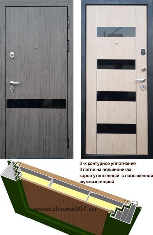входные двери (стальные двери, металлические двери) DOORS007: дверь Страж Премьер Z1