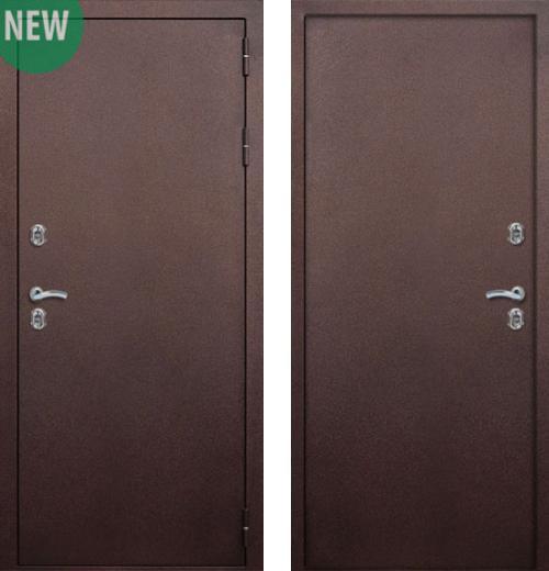 входные двери (стальные двери, металлические двери) DOORS007: дверь Страж Сибирь 2 (Морозостойкая с термо-разрывом)