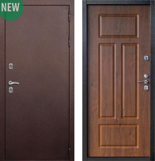 входные двери (стальные двери, металлические двери) DOORS007: дверь Страж Сибирь 3К (Морозостойкая с термо-разрывом), Цвет