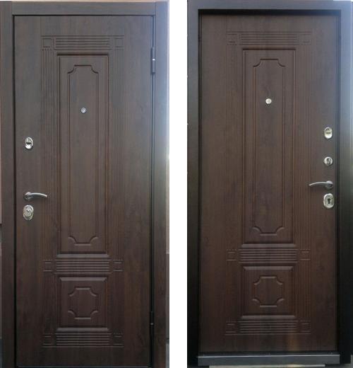 входные двери (стальные двери, металлические двери) DOORS007: дверь Страж Техно 3