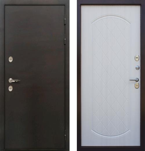 входные двери (стальные двери, металлические двери) DOORS007: дверь Страж Термо Эконом
