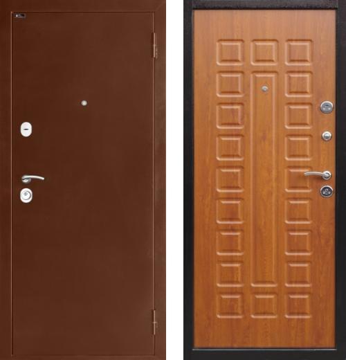 входные двери (стальные двери, металлические двери) DOORS007: дверь Страж ULTRA 2, Цвет